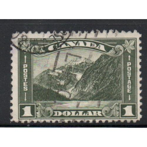 Canada Sc 177 1930 $1 Mt Edith Cavell stamp used