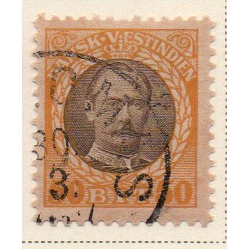 Danish West Indies Sc 50 1908 50 bit Frederik VIII stamp used