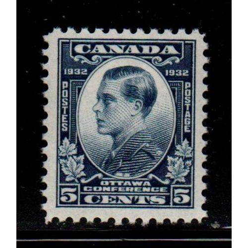 Canada Sc 193 1932 5c Prince of Wales stamp mint NH
