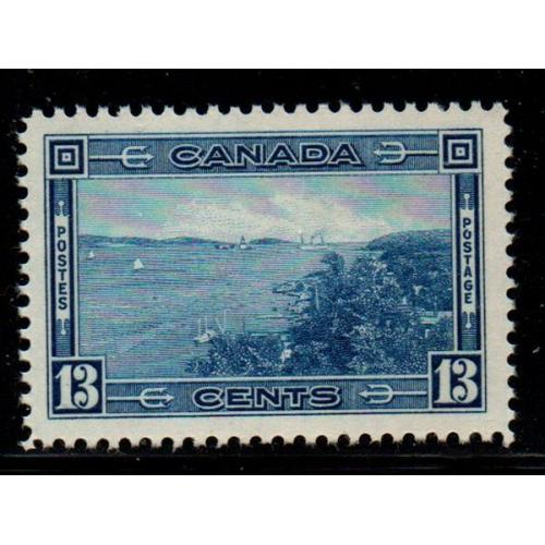 Canada Sc 242 1938 13 c Halifax Harbour stamp mint NH
