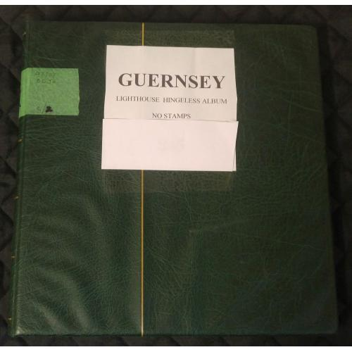 Guernsey gently used Lighthouse Hingeless album