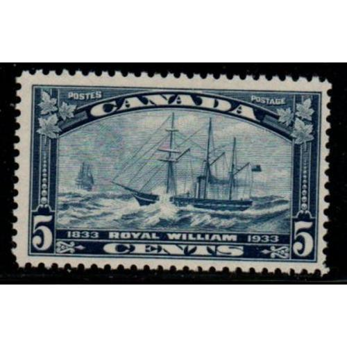 Canada Sc 202 19335 5c steamship Royal William stamp mint NH