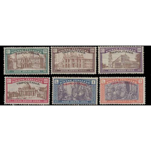Tripolitania #B1-6 Mint Set