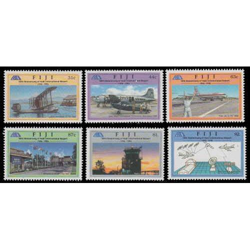 Fiji #776-781 Mint Set