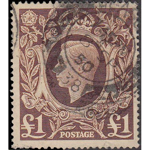 Great Britain #275 Used