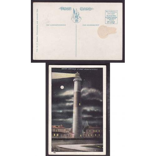 USA-#12857 - unused p/c-Absecon lighthouse-Atlantic City NJ-