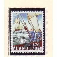Aland Finland Sc 168 2000 Cutty Sark Tall Ship Races stamp mint NH