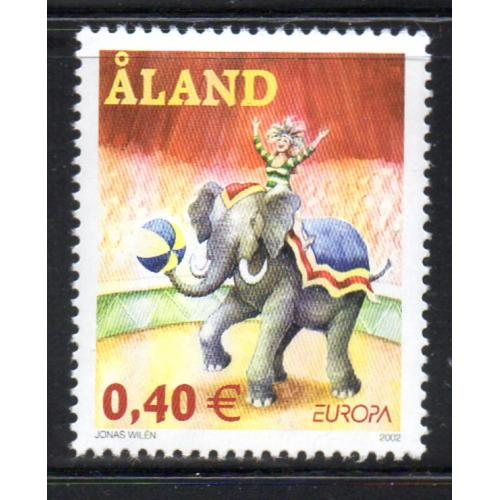 Aland Finland Sc 204 2002 Europa stamp mint NH