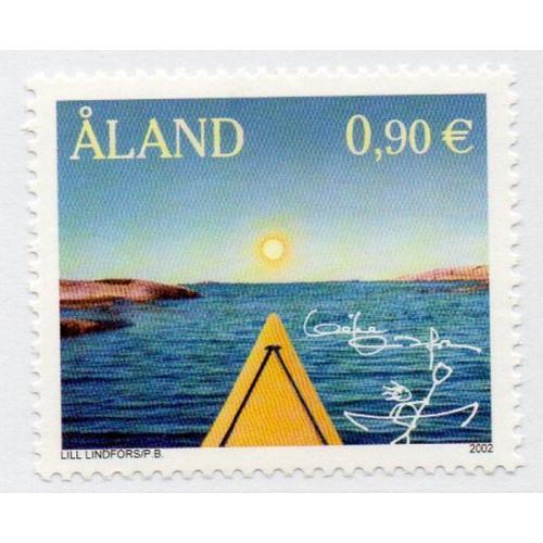 Aland Finland Sc 206 2002 My Aland by Lindfors mint NH
