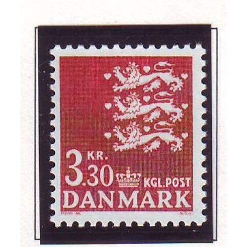 Denmark Sc 644 1981 3.3kr State Seal stamp mint NH