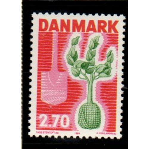 Denmark Sc 749 1984 Tree Planting stamp mint NH