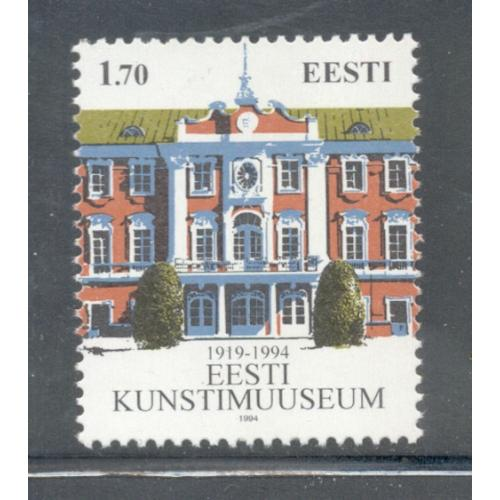Estonia Sc  278 1994 Art Museum stamp  mint NH