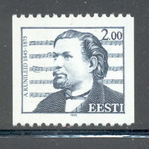Estonia Sc  296 1995  Kunleid, Composer, stamp mint NH