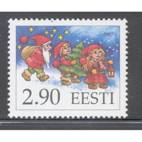 Estonia Sc  332 1997  Christmas Elves stamp  mint NH