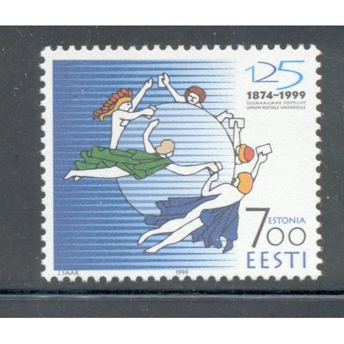 Estonia Sc  368 1999 125th Anniversary UPU stamp mint NH