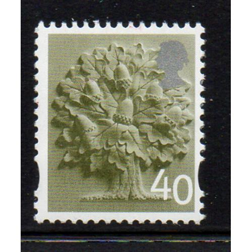 Great Britain  England Sc 10 2004 40p Oak Tree stamp mint NH