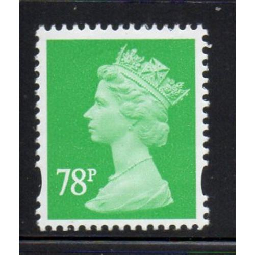 Great Britain Sc MH371 2007 78p emerald Machin Head stamp mint NH