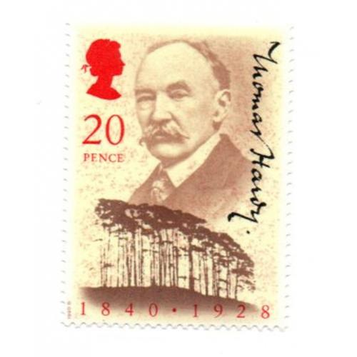 Great Britain Scott  1326 1990 Thomas Hardy mint NH