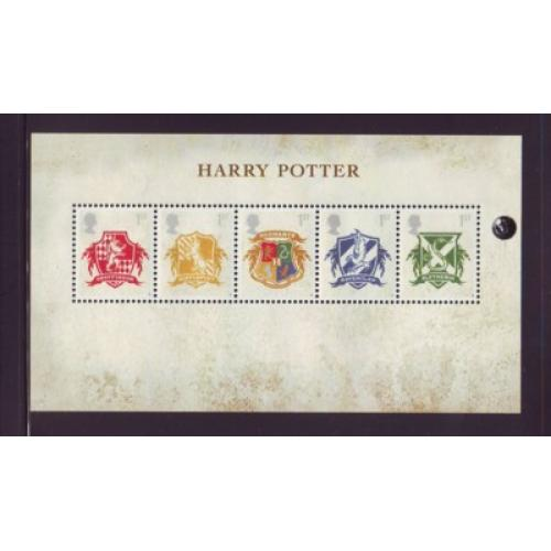 Great Britain Scott  2486 2007 Harry Potter stamp sheet mint NH