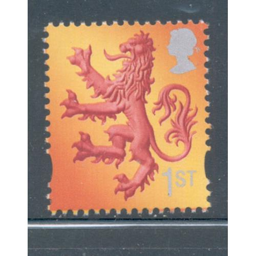 Great Britain Scotland Sc 15 1999 1st Lion Rampant stamp mint NH
