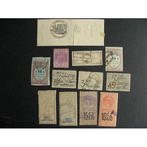 France 12 old revenues, very mixed condition, what lurks here??