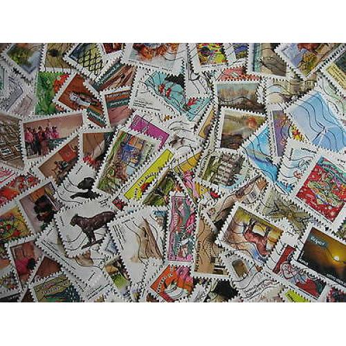 FRANCE collection 114 different used stamps issued in 2013 includes 8 long sets