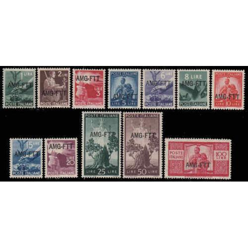 Italy - Trieste #58-69 Mint Set