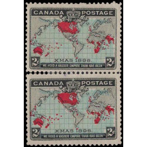 Canada #86 Fine-Very Fine Mint Pair
