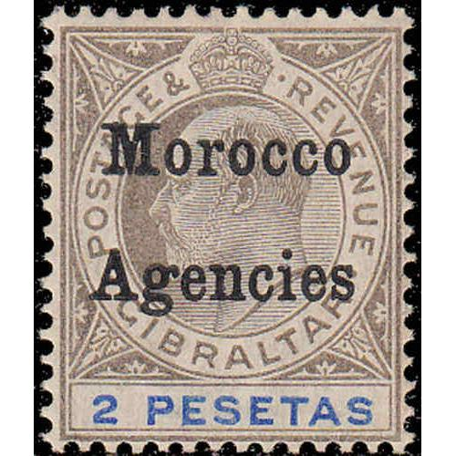 Great Britain Offices In Morocco #26 Mint