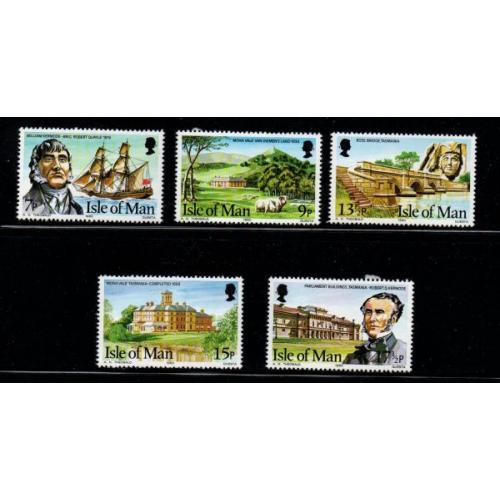 Isle of Man Sc 177-81 1980 Kermode Family stamp set mint NH