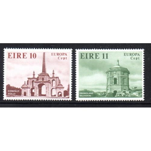 Ireland Sc 443-44 1978 Europa stamp set mint NH