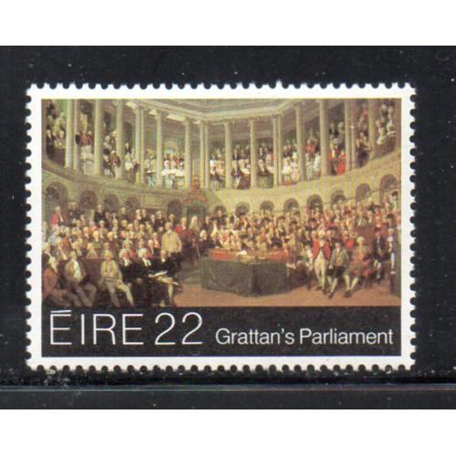 Ireland Sc 533 1982  Grattan's Parliament stamp mint NH