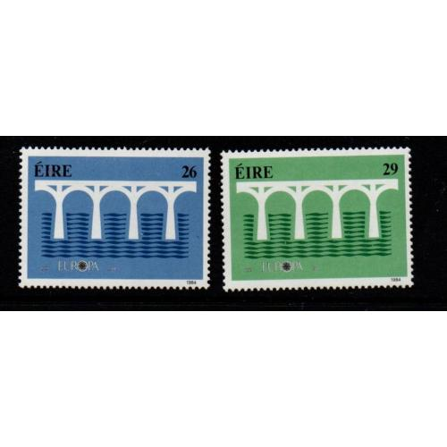 Ireland Sc 592-93 1984 Europa stamp set mint NH