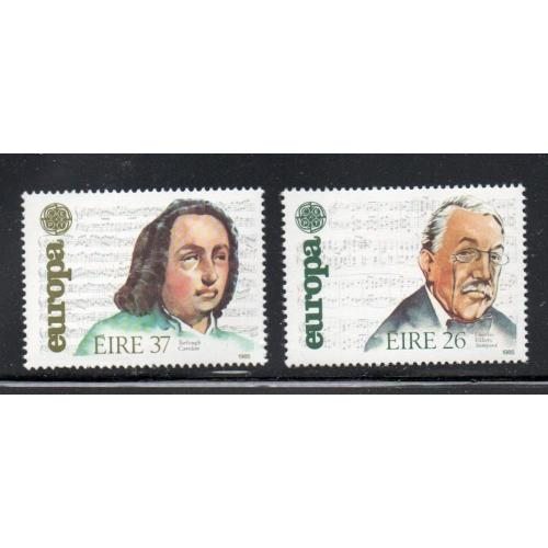 Ireland Sc 616-617 1985 Europa stamp set mint NH