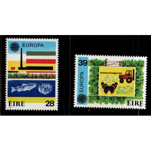 Ireland Sc 658-59 1986 Europa stamp set mint NH
