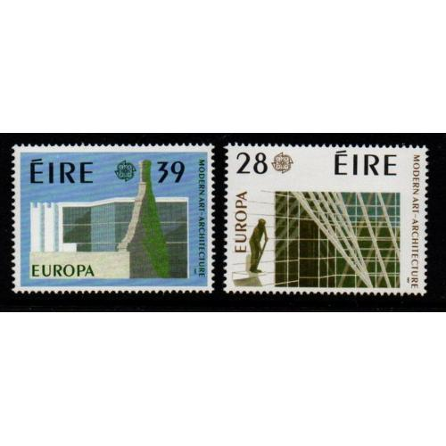 Ireland Sc 689-90 1987 Europa stamp set mint NH