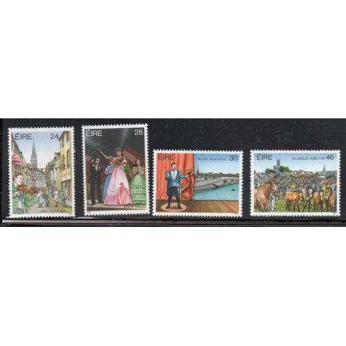 Ireland Sc 695-98  1987 Festivals stamp set mint NH