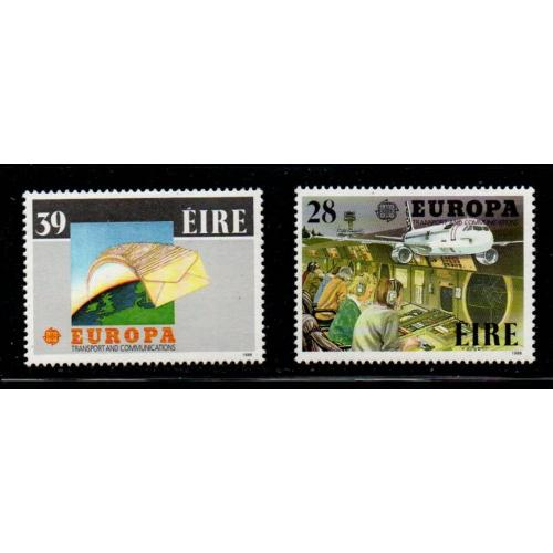 Ireland Sc 717-718 1988 Europa stamp set mint NH