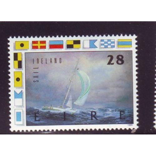 Ireland Sc 754 1989 Round the World Yacht Race stamp mint NH