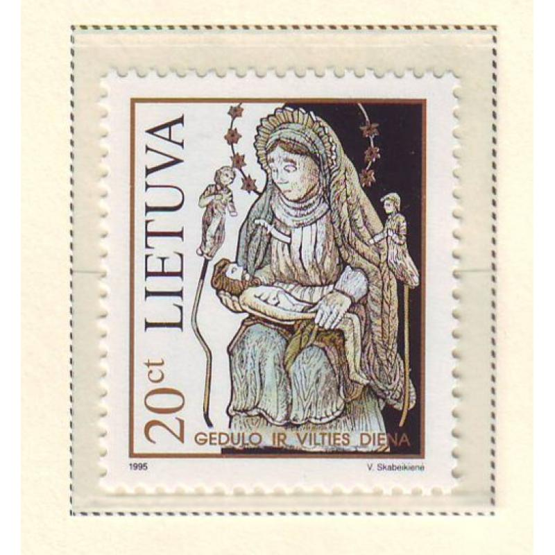 Lithuania Sc 517 1995 Day of Mourning & Hope stamp mint NH