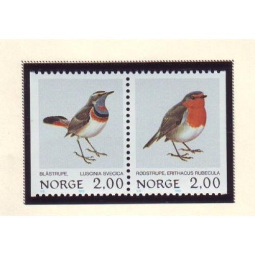 Norway Sc 800-01 1982 Birds stamp set mint NH