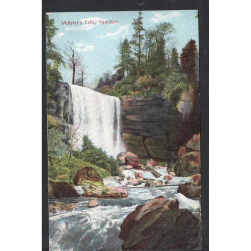 Hamilton Canada Colour PC Webster Falls, unused
