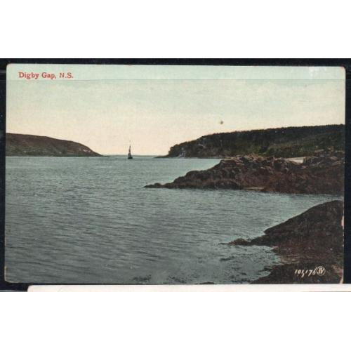 Early Valentine & Sons  Colour PC Digby Gap, N.S.. unused